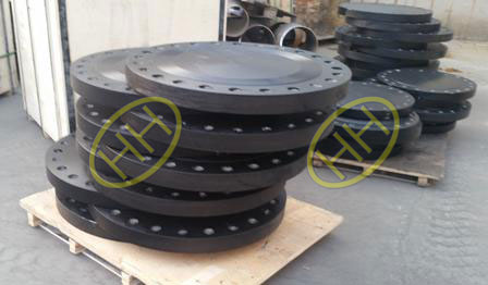 Forged steel blind flange in Haihao Flange Factory