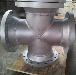 flanged-pipe-cross