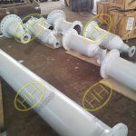 Flanged pipe fabrications