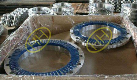 ASTM A105 steel flanges