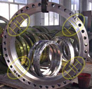 Finished ASTM A105N Steel Flange