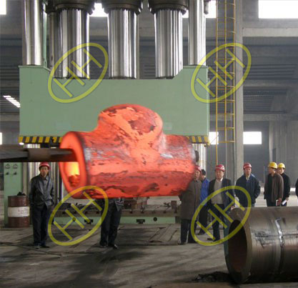ASTM A182 F51 Pipe Fitting Forming