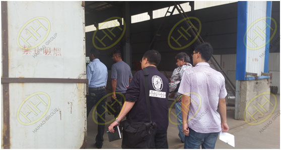BV engineer to witness pipe spools,pipe fittings and flanges production and check quality in Haihao Group