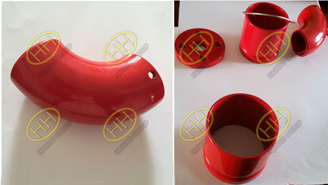 Anti corrosive coating for steel pipe fittings