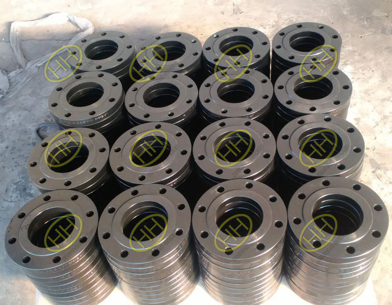 ANSI B16.5 ASTM A105 RF forged slip on flanges