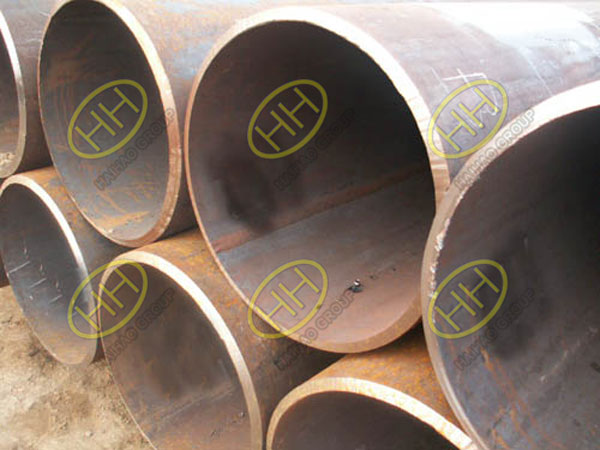 Longitudinal seam submerged arc welded (LSAW) steel pipes