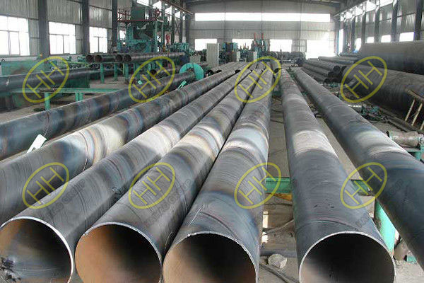 Spiral submerged arc welding (SSAW) steel pipes