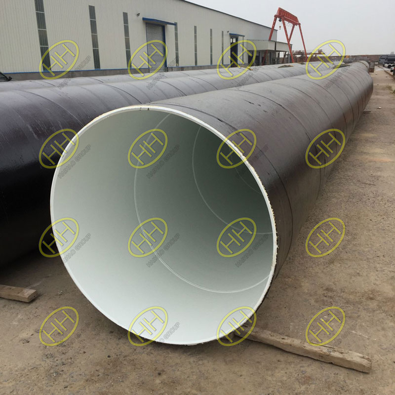 3PE steel pipes