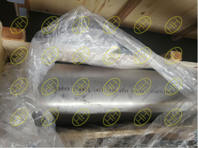 Marking of S31803 seamless pipe