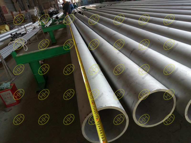 Measurement length of S31803 seamless pipe