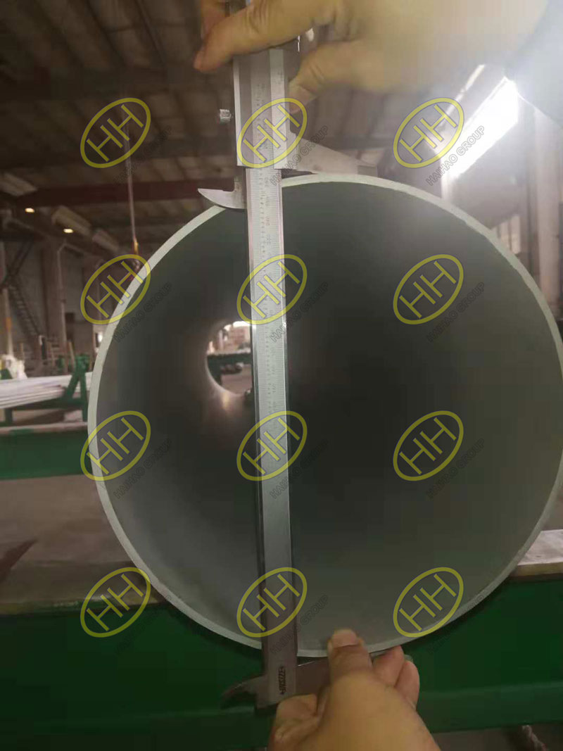 Outside diameter measurement of S31803 seamless pipe