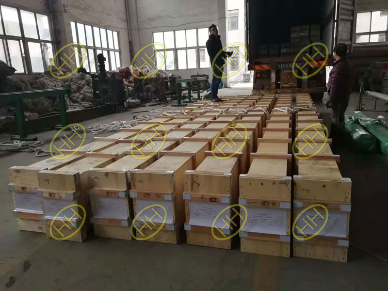 Packing of S31803 seamless pipes