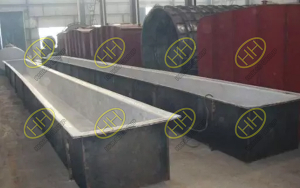 Pickling pond for seamless steel pipes