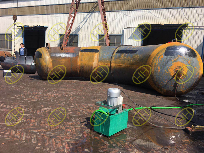 Hydrostatic test and proof test or burst test for pipe fittings