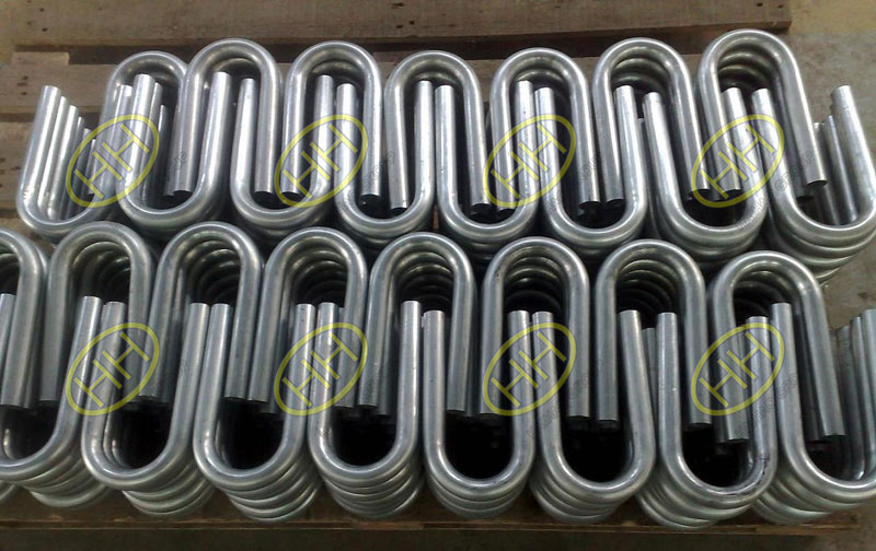 Stainless steel SS347 U pipe bends