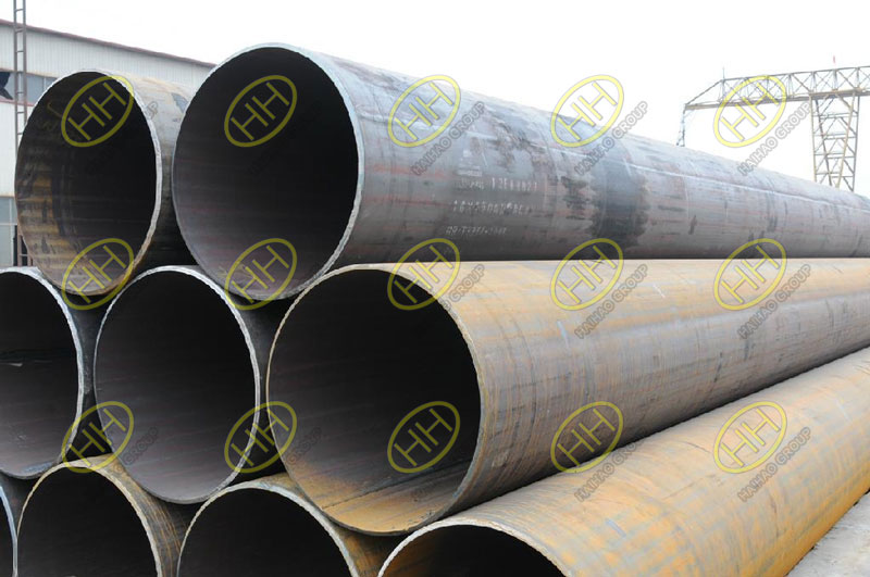The causes and prevention measures of bore formation in welding pipe