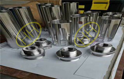 Electrolytic polishing of pipe fittings