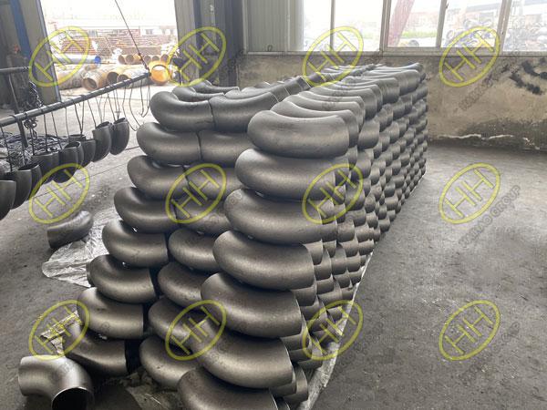 Inventory list of EN10253-2 P265GH pipe fittings